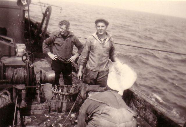 Vissers aan het werk