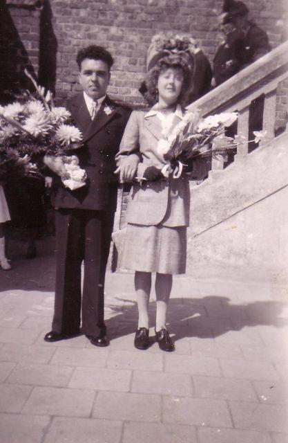 Albert Utterwulghe uit Heist met echtgenote Annie Groene