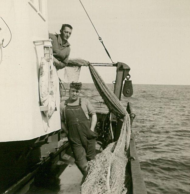 Aan boord van Z.558 Eureka (bouwjaar 1958)
