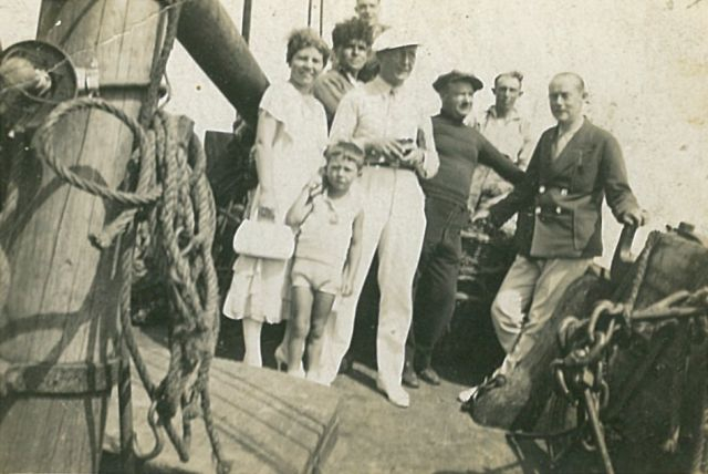 Bemanning en andere personen aan boord van de H.3 Verdun (Bouwjaar 1923)