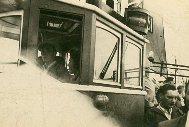 Aan boord van de Z.251 Bobby (Bouwjaar 1943)