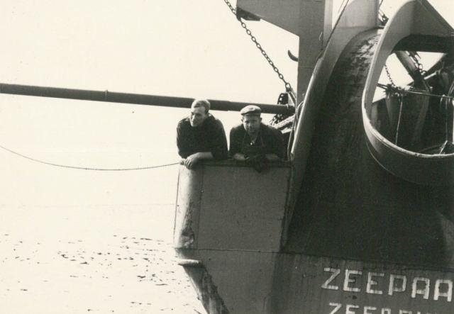 Aan boord van de Z.425 Zeepaard (bouwjaar 1966)