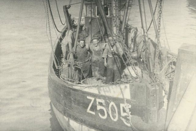 Z.505 Freddy (Bouwjaar 1927) met bemanning