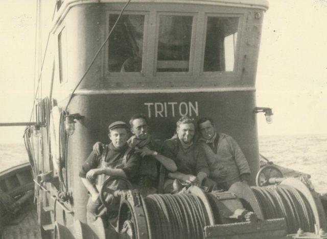 Bemanning aan boord van de Z.570 Triton (Bouwjaar 1960-1961)