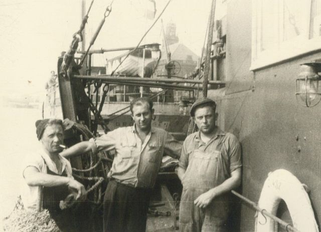 Aan boord van de Z.432 Feniks (Bouwjaar 1932)