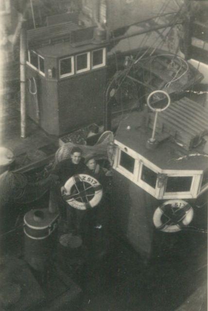 Aan boord van de Z.517 (Bouwjaar 1931)