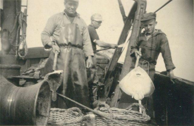 Aan boord van de Z.520 De Drie Gebroeders (Bouwjaar 1926)