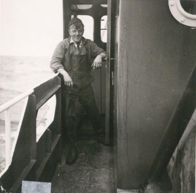 Aan boord van de Z.402 Atlantis (Bouwjaar 1963)