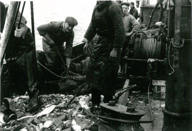 Aan boord van de Z.30 Hubert-Elsie (Bouwjaar 1943)