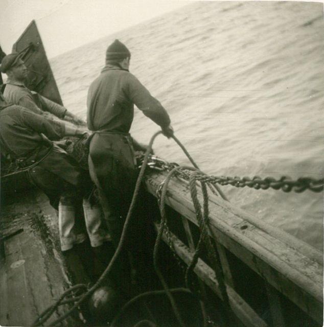 Aan boord van de Z.508 Zegen (bouwjaar 1957)