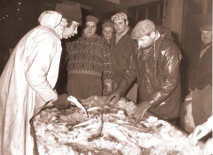 Vis verkopen in vismijn