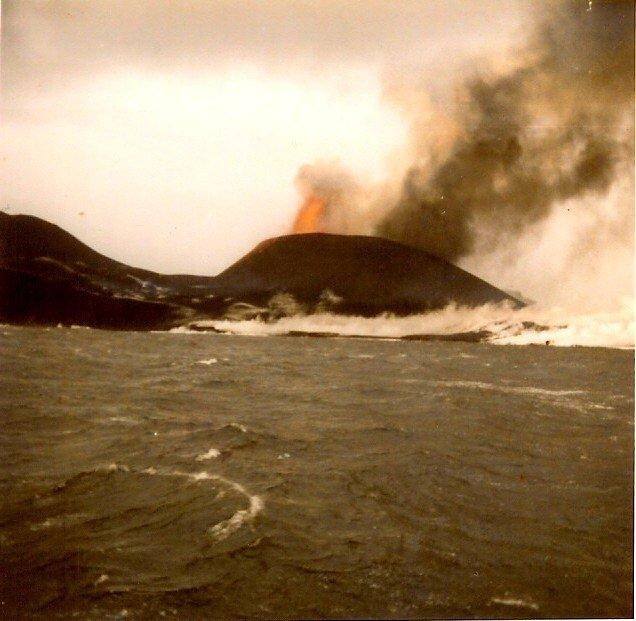 Ontstaan van eiland Surtsey