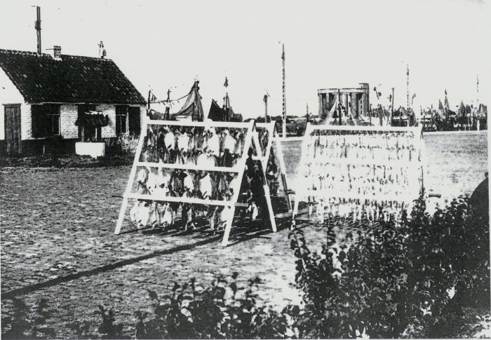 Droogvis van vishandel Elverdinghe