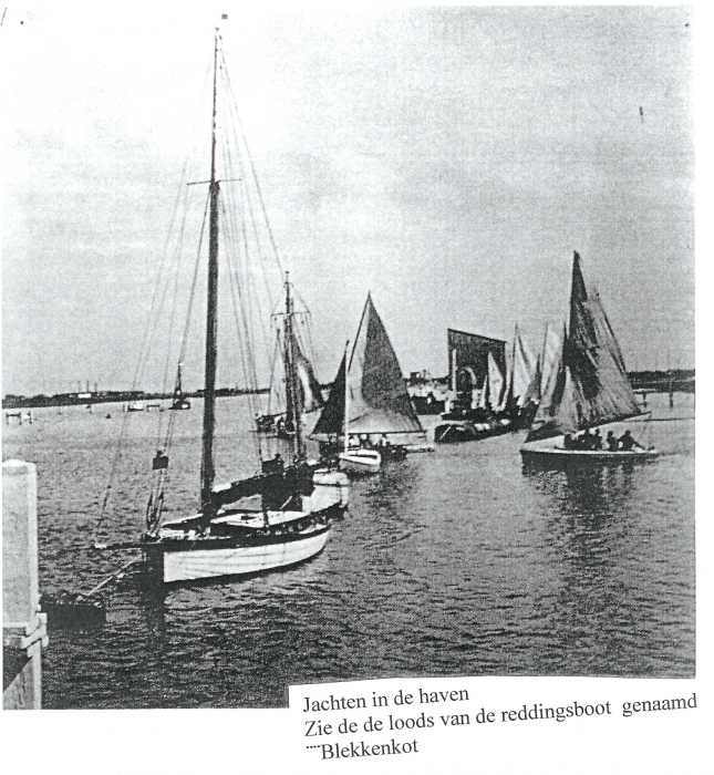 Jachten in de haven