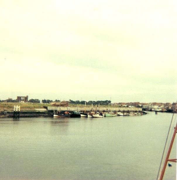 Aangemeerd in Nieuwpoort