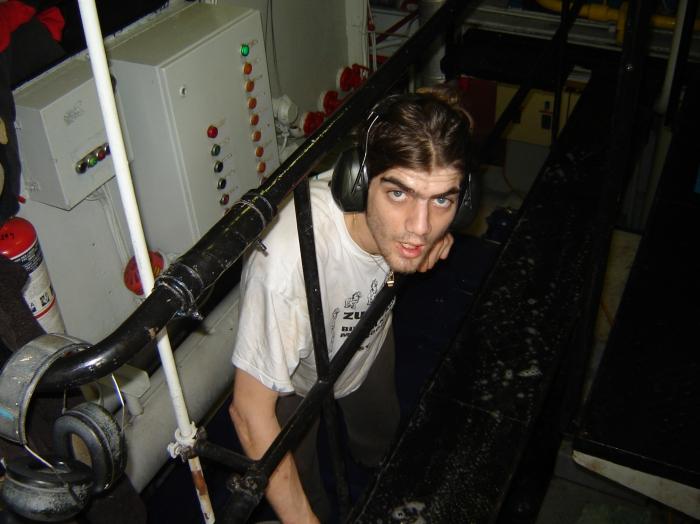 In de machinekamer