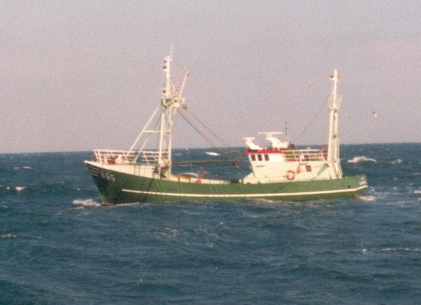 B.65 Artevelde (bouwjaar 1986) vissend