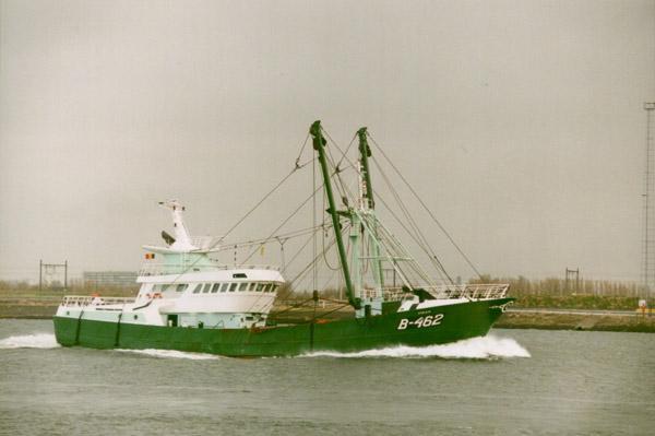 B.462 Vidar (bouwjaar 2000) uitvarend
