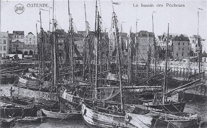Vissershaven van Blankenberge