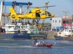Helicopter en duikers