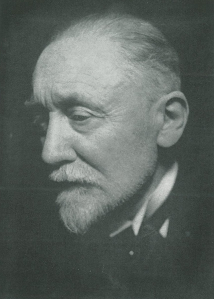 Portret Auguste Lameere, 1934