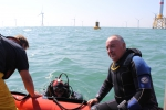 Meetboei en duiker