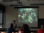 Workshop sharing marine science with the audience
