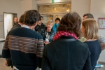Student restaurant De Brug: visit from the rector