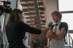 Student restaurant De Brug: marine biologist Jan Reubens is talking to the press