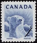 Canadian Postage Stamp (1953): Polar Bear