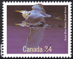 Canadian Postage Stamp (1986): Great Blue Heron