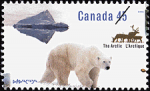 Canadian Postage Stamp (1995): Northern Nature
