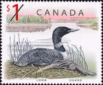 Canadian Postage Stamp (1998): Loon