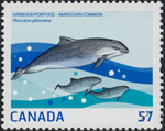 Canadian Postage Stamp (2010): Harbour Porpoise, author: National Archives of Canada