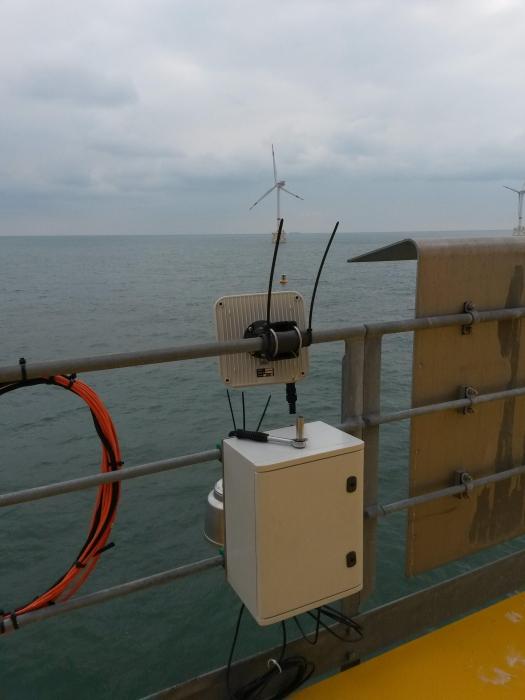 Wifi installation turbine