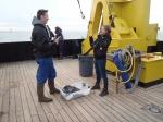Waar vinden we de batterijbacterie voor onze kust? (Filip Meysman, VUB), College O.L.V. ten Doorn Eeklo o.l.v Petra Van Bastelaere.