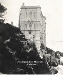 The Oceanographic Musuem in Monaco- 1909 - pre-inauguration
