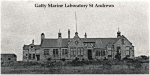 Gatty Marine Laboratory in St Andrews (Scotland) in 1909