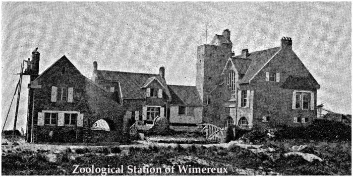 Zoological Station at Wimereux (Pas de Calais, France)