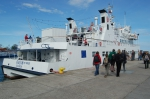 Boat trip - harbour of Gdynia #1