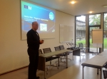 Ole Svenstrup Petersen (DHI - Denmark) presents the regional opportunities for the Baltic Sea study site