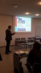 Raúl Guanche (University of Cantabria – Spain) presents the regional opportunities for the Atlantic Ocean site