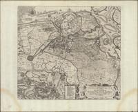Caerte van t'Vrye sijnde een gedeelte en lidt van Vlaenderen waer in vertoont wert de tegenwoordige ghelegentheijt van de stadt Sluys Cadsand en de doorgesteken polders met grooten vlijt gecorrigeert en verbetert (1622)