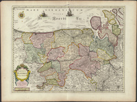 Comitatus Flandriae nova tabula (1650)