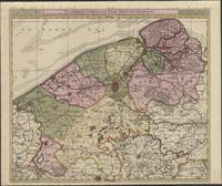 Flandriae comitatus pars septentrionalis (1660)