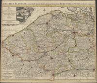 Comitatus Flandriae tam orientalis quam occidentalis ad usum serenissimi Burgundiae ducis (1720)