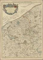 Le Comté de Flandres divisés en ses chastellenies, balliages etc (A) (1720)