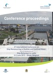 Third international conference on ship manoeuvring in shallow and confined water: with non-exclusive focus on ship behaviour in locks, 3-5 June 2013, Ghent, Belgium
