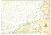 Noordzee Belgisch-Nederlandse kust Monding van de Westerschelde van Oostende tot Westkapelle (1985)