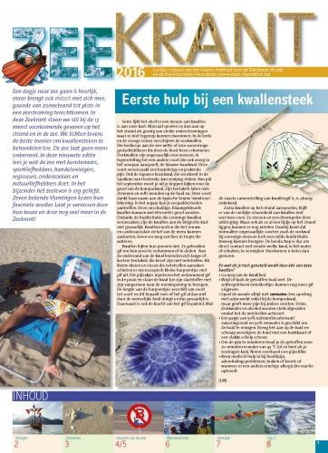Zeekrant 2016: jaarlijkse uitgave van het Vlaams Instituut voor de Zee en de Provincie West-Vlaanderen